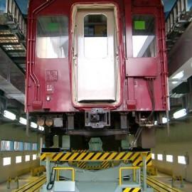 車両整備用リフト(列車)